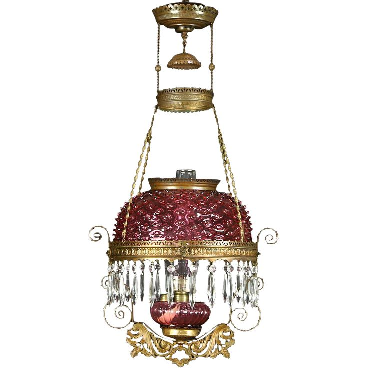 Hanging Lamp That Drips Oil: 13 Best Victorian Hanging Library Lamps Images On