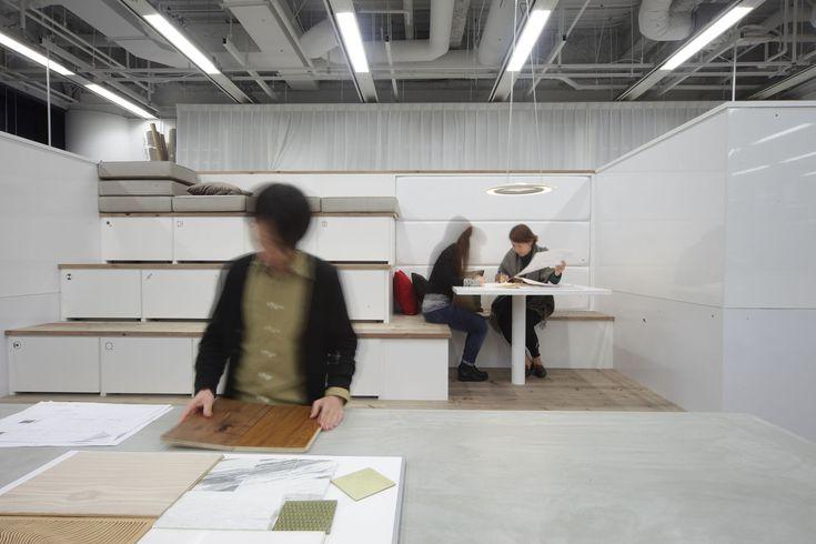 Nikken Space Design Osaka Office,© Nacasa & Partners