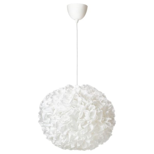 Vindkast Pendant Lamp White Ikea In 2020 White Pendant Lamp Pendant Lamp Shade Pendant Lamp