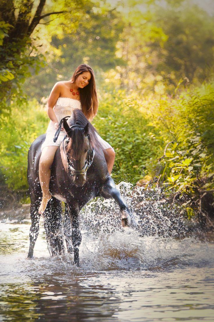 Pferdefotografie mit Michelle und Beatrix – J. Salm Photography