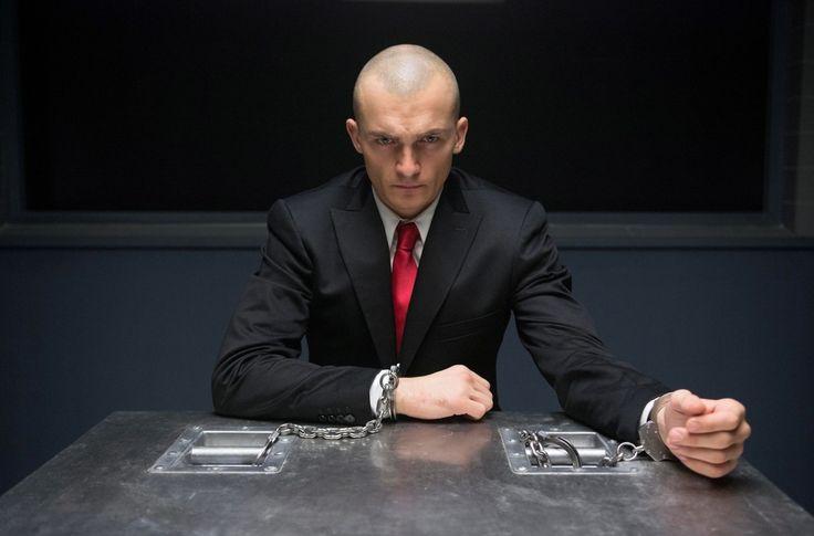 """Rupert Friend as Agent 47 in """"Hitman: Agent 47"""", 2015"""