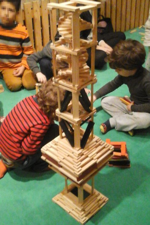 Taller escolar construcciones kapla