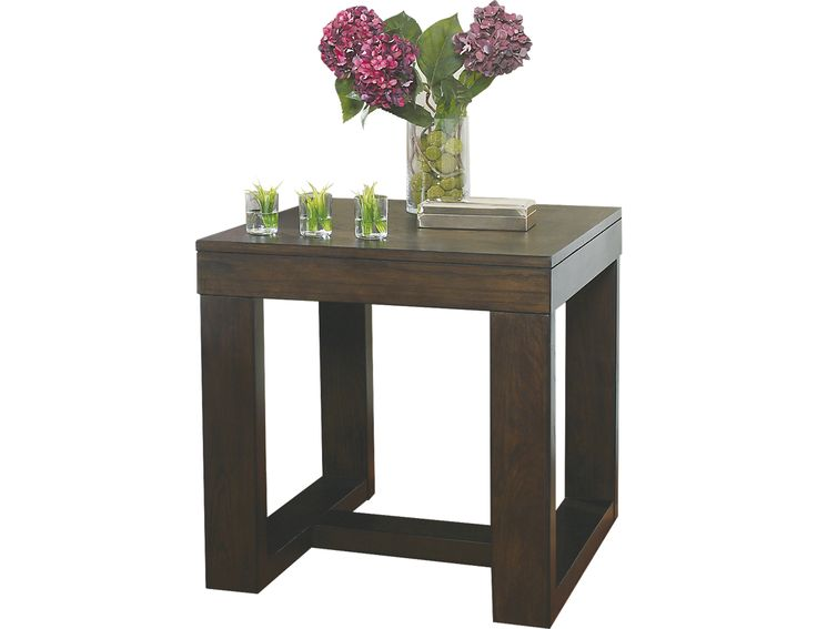 Watson Square End Table , T481-2 END TABLE (T481-2) | The Brick BETWEEN UPHOLSTERED CHAIRS