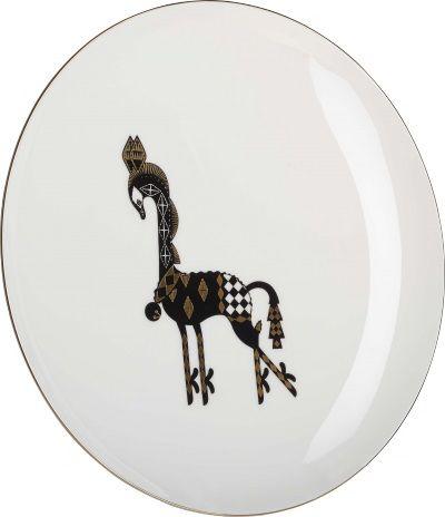 Klaus middagstallerken i porselen. Kr. 150,-