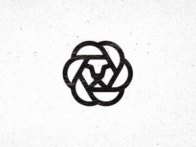 Great mono-line logo