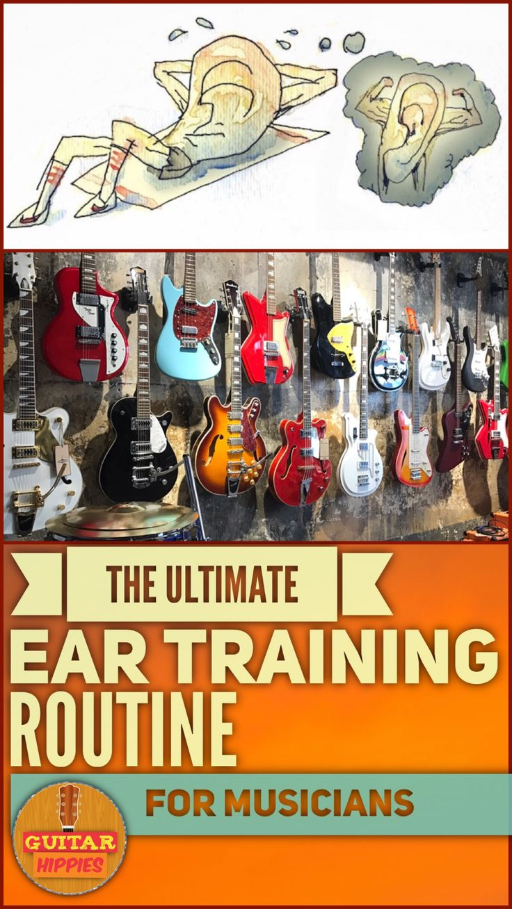 ear training exercises ear training routine Guitar Hippes GuitarHippies