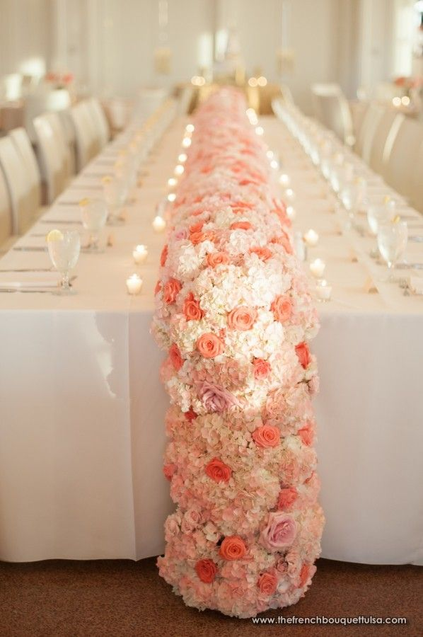Superior Floral Table Runner