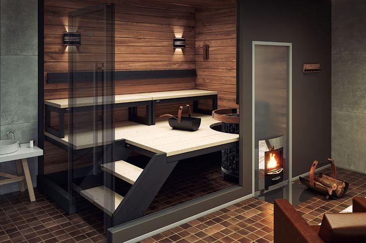 Puulämmitteiset saunat – Harvia Sauna & Spa