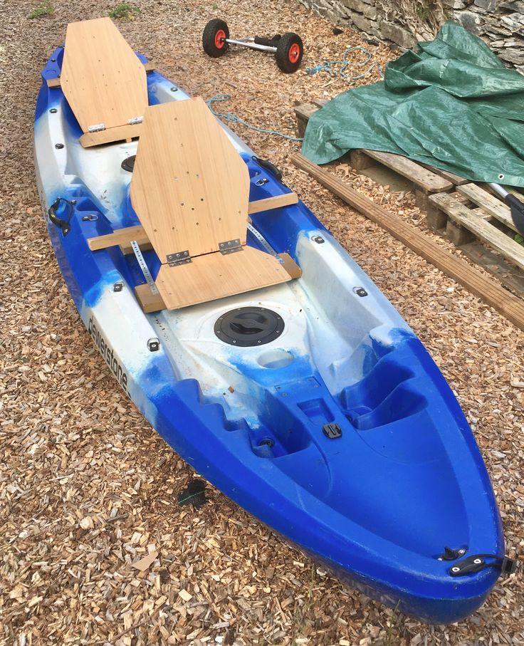 Home made wooden kayak seats kayak seats wooden kayak