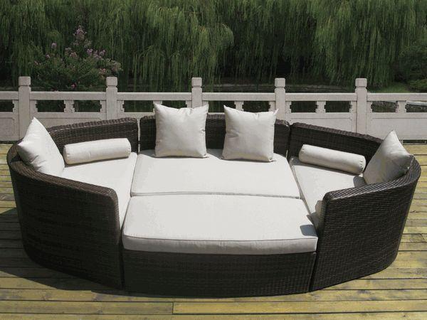 Daybed Patio Furniture | Patio | Pinterest | Patio Esterni, Beautiful E  Arredamento Marrone