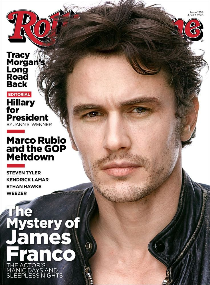James Franco on the April 7, 2016 cover