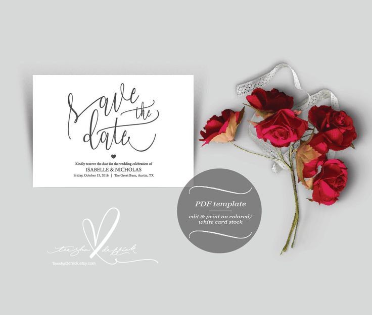 47 best Save Dates images by Teesha  Derrick on Pinterest Dates