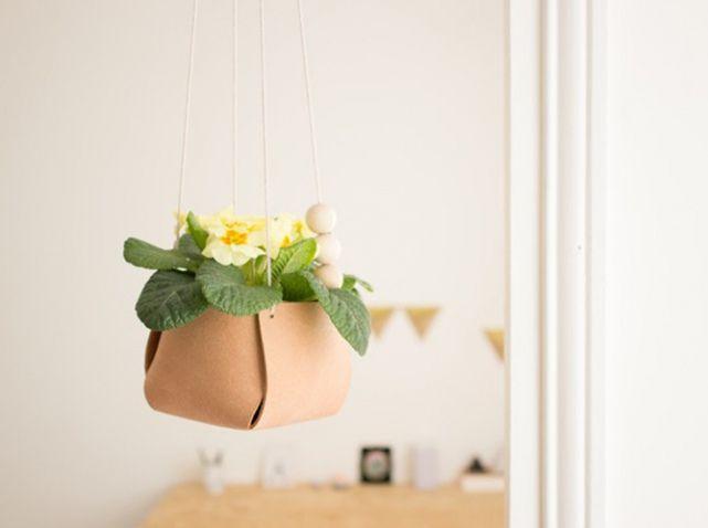 DIY Pot Fleur Suspendu