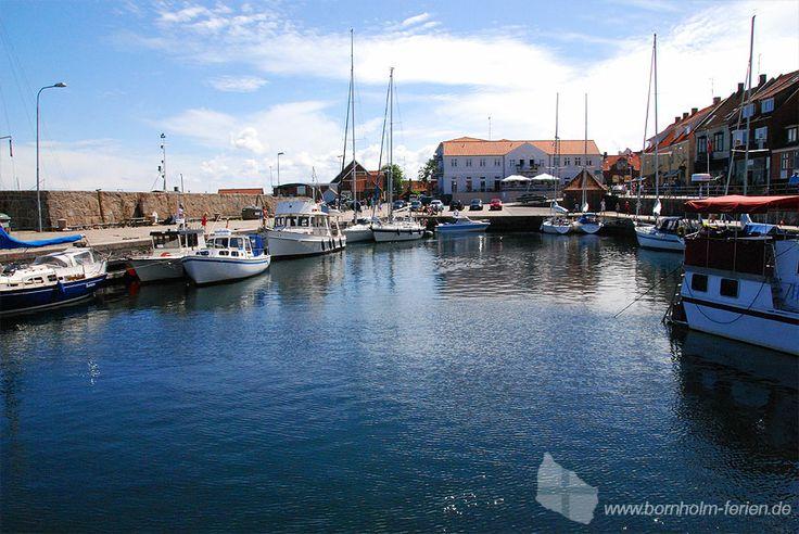 Der Hafen von Allinge #hafen #boote #allinge #insel #bornholm #dänemark