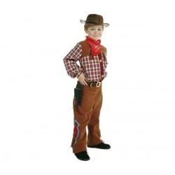 CESAR Disfraz Cow-boy con accesorios: 3/5 años - UKA Digital