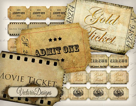 30 best Event Tickets images on Pinterest Event tickets - Printable Event Tickets
