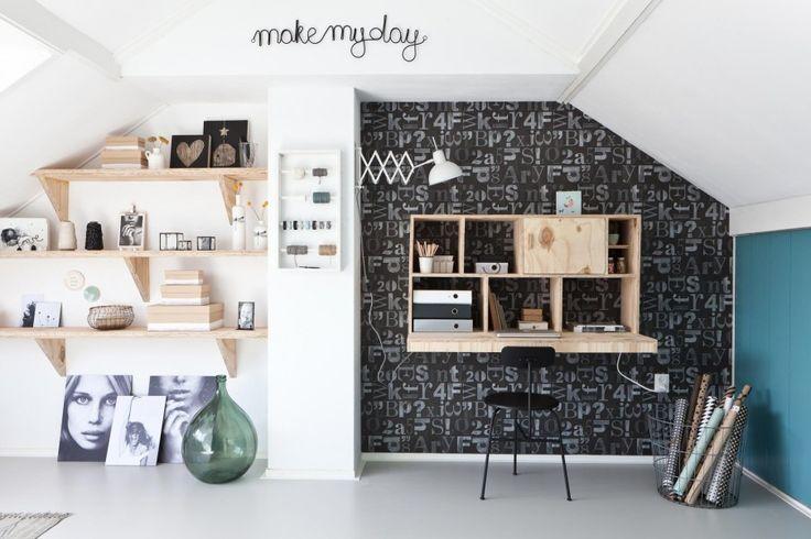 In de eerste aflevering van vtwonen doe-het-zelf verrast Lotte Maarten met een fijne werkplek | Make-over door Kim van Rossenberg
