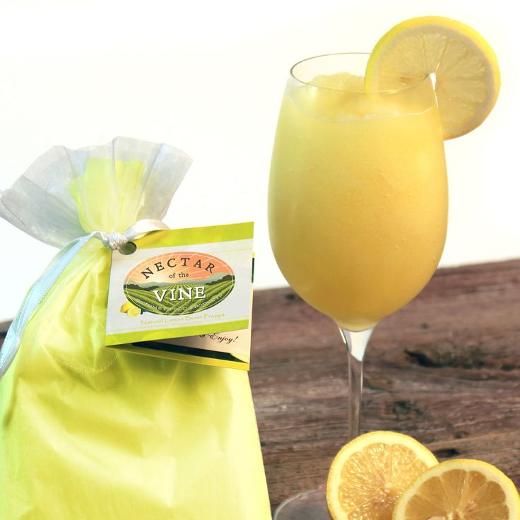 This lemon burst wine frappe makes the perfect summer drink! Mix with your favorite dry white wine, or add your favorite fruit infused vodka (raspberry lemonade anyone?) and make a tasty frozen cocktail! Try some today!