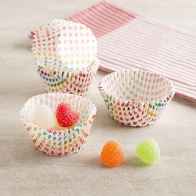Make your next celebration perfect with these Good Cook Sweet Creations Muffin/Cupcake Papers. These festive and colourful cupcake papers are great for parties and giving friends and family your delicious baked goods!