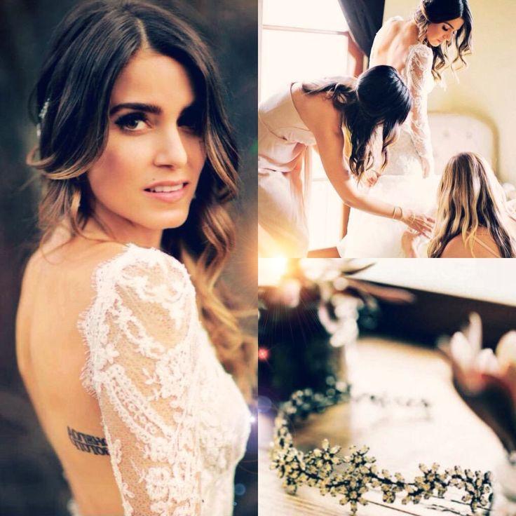 Best 25+ Nikki Reed Wedding Ideas On Pinterest