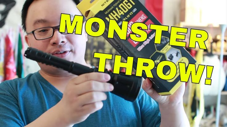Nitecore MH40GT MONSTER THROWER Flashlight Review - HIGHLY LOVED!