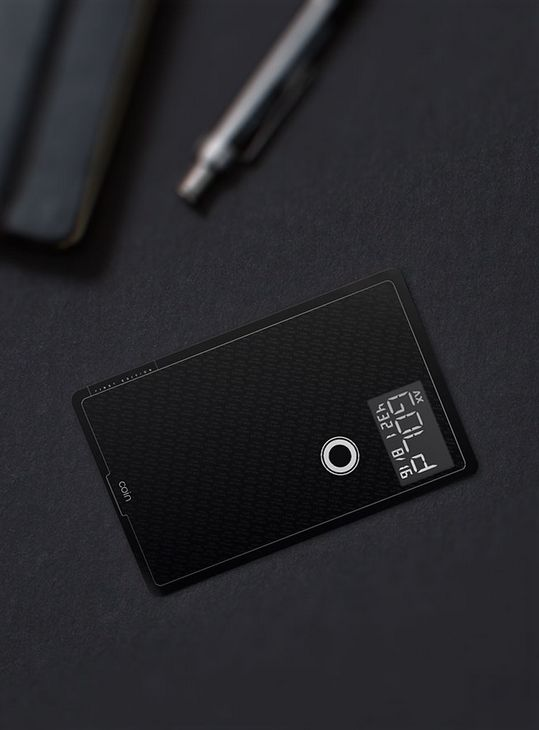 The Coin digital wallet.