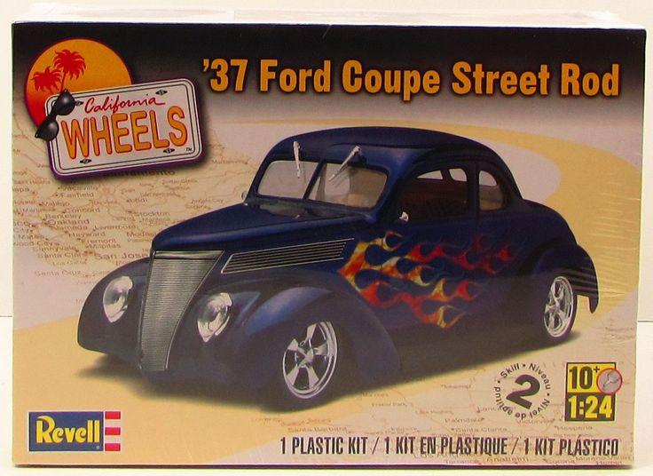 Revell 1937 Ford Coupe Street Rod 85-4097 1/24 New Plastic Model Kit