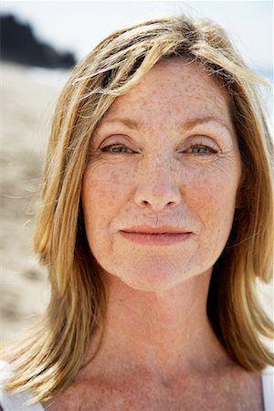 image result for older women freckles  freckles older