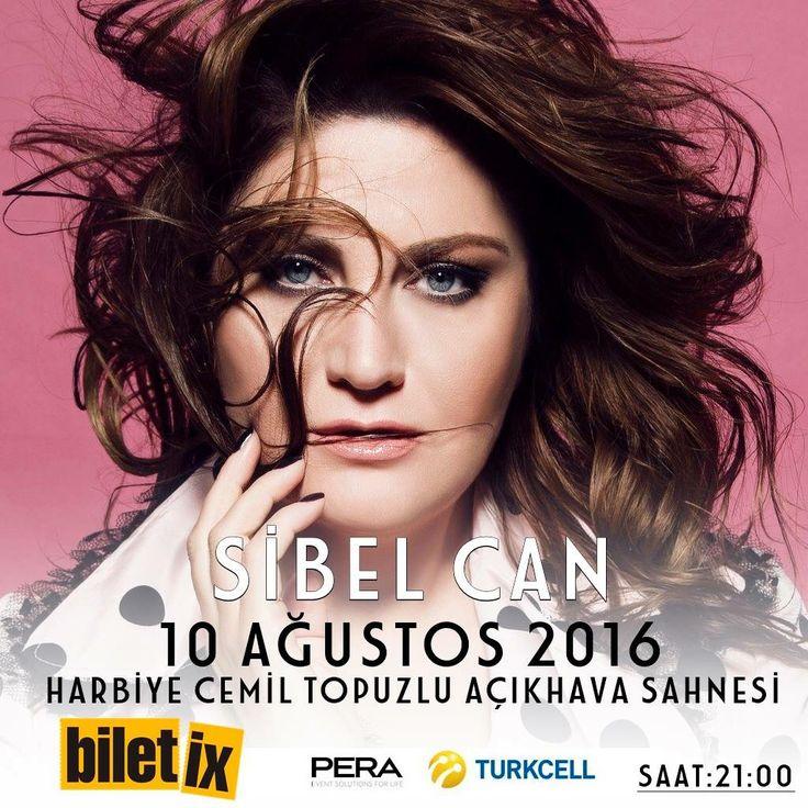 Sibel Can 10 Ağustos 2016 Saat : 21:00 Harbiye Cemil Topuzlu Açıkhava Sahnesi, İstanbul Biletler : http://bit.ly/1tpEKq7
