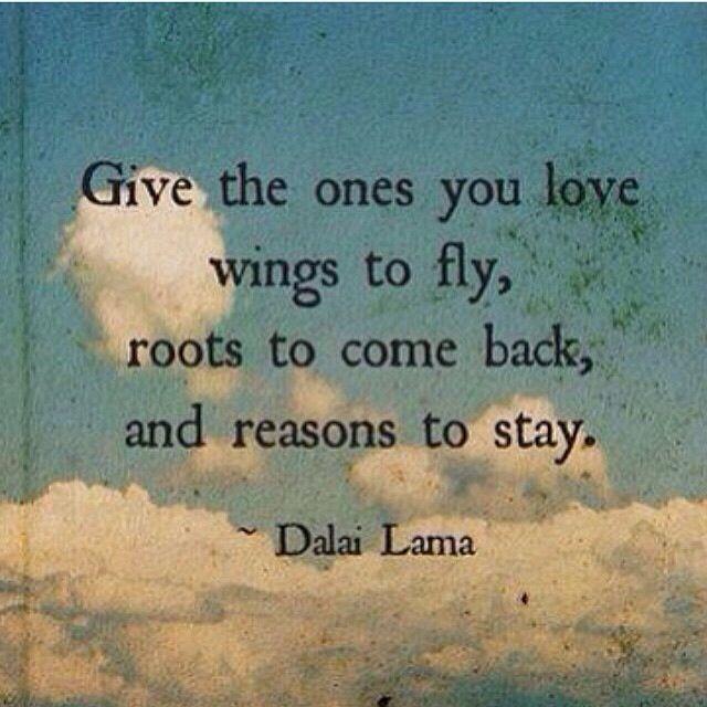 Liefde is in vrijheid verbinden, want vrij zijn we allemaal...