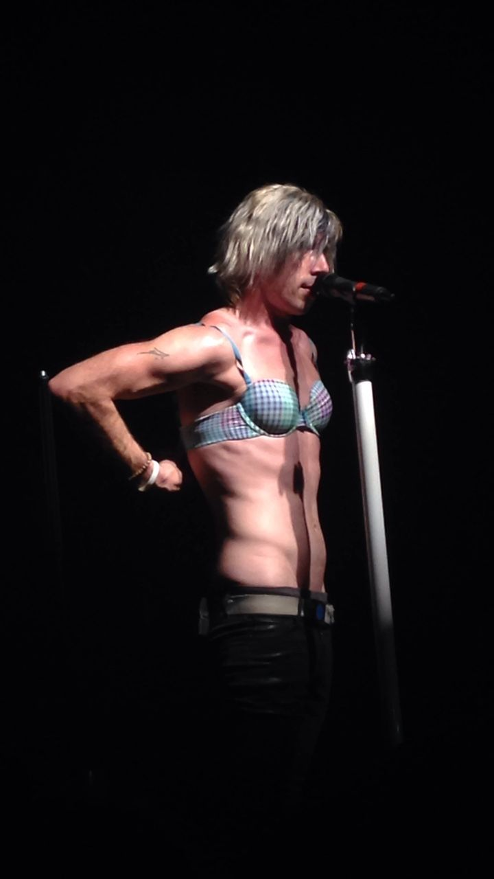 Josh Ramsay the only guy who can make a bra look manly