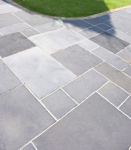 600x600mm Limestone Garden Patio Paving Slabs Midnight Sky (7.44m² Pack) | eBay