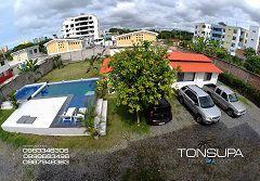 TONSUPA HOME AND BEACH ofrece cabañas dentro de una propiedad privada y familiar, con piscina para adultos y niños además cuenta con parqueadero. Cada cabaña cuenta con dos habitaciones ,una...