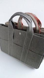 karla's: Handleiding L-bag tutorial pattern diy patroon zelfmaken tas