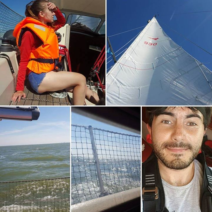 """www.frarina.com #sailing #sailingboat #sail #yacht #marina #photo #photography #instatravel #travelgram #follow us! Hello there! I am Frank Cozzolino and with my beautiful girlfriend Marina we love to sail vlogging and documentary making. Together we founded our Youtube channel """"FRARINA"""" which is all about sport and outdoors activities and travel documentaries. Whereas FrancisCozzolino is my personal Youtube channel where I will post our vlogs. =======Youtube…"""