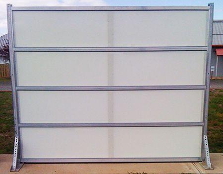 Fiberglass Overhead Sectional Garage Door Arm R Lon