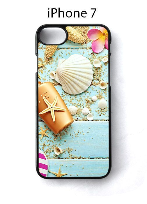 Seashells Starfish Flower Rustic Beach iPhone 7 Case Cover - Cases, Covers & Skins