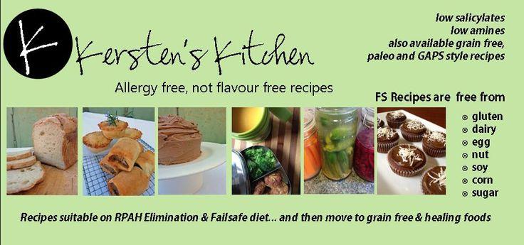 Kersten's Kitchen: Allergy Free, Not Flavour Free