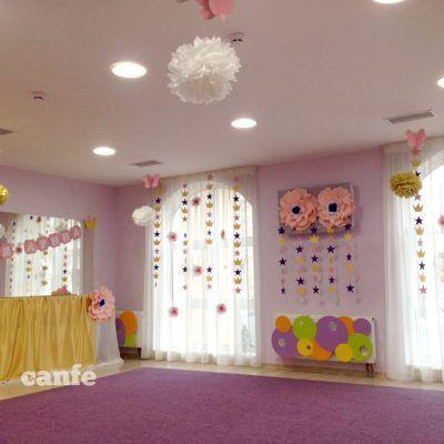 украшение зала ко дню рождения