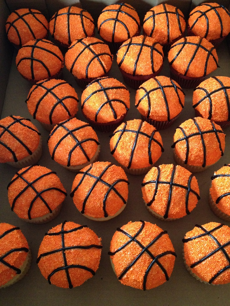 Basketball cupcakes - what do you think?