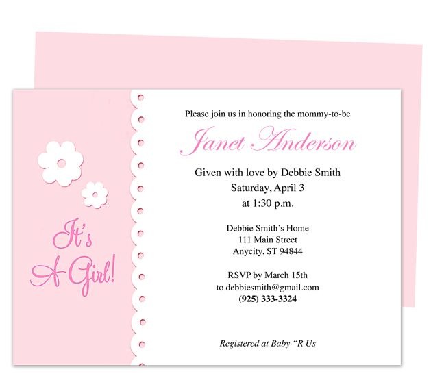 online baby announcement templates - 42 best baby shower invitation templates images on