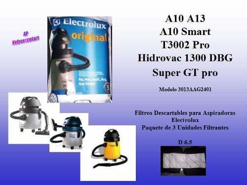 Hidrovac 1300w Bolsas Aspiradora Electrolux Descartables A10