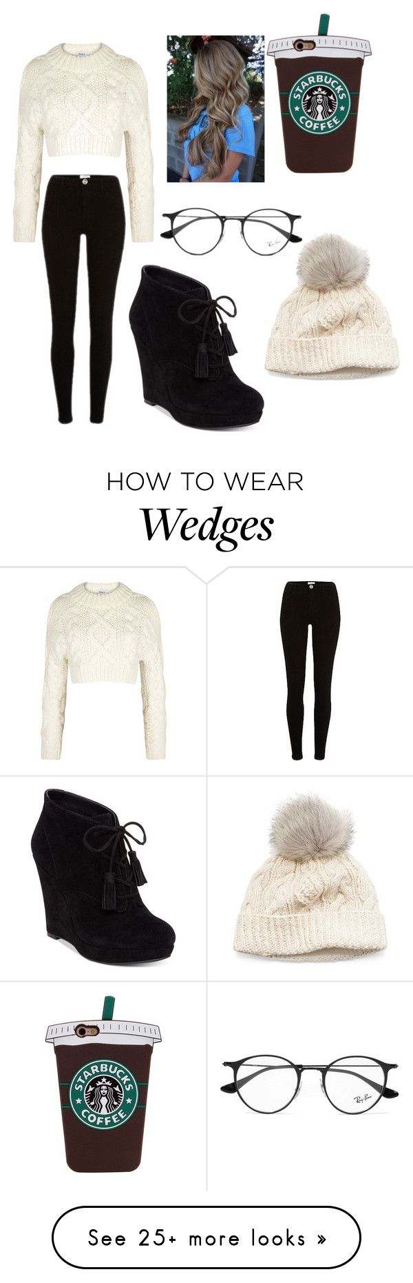 """""""Fall classic"""" by amayafrench on Polyvore featuring DKNY, Jessica Simpson, SIJJL and Ray-Ban"""