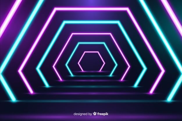 Download Bright Geometrical Neon Lights Background For Free Light Background Images Lights Background Neon
