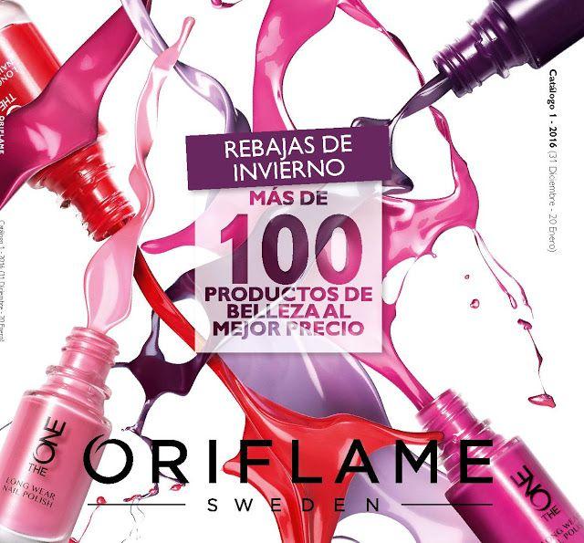Cosmética Delos: Catálogo 1 de Oriflame