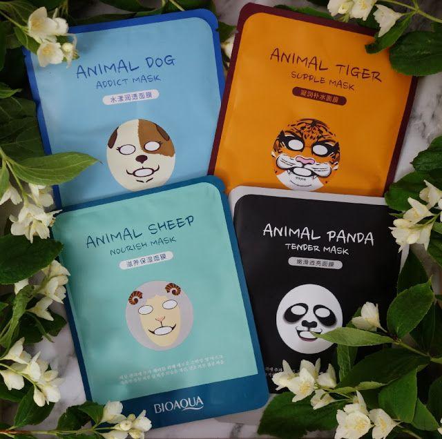 All my cosmetics: Animované plátýnkové masky