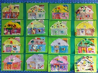 Hansel and Gretel houses