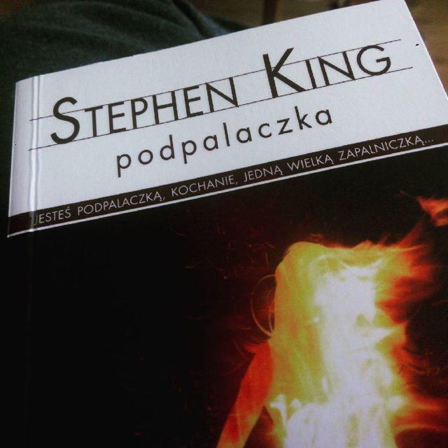 Kolejna #ksiazka do przeczytania autorstwa #stephenking pt. #podpalaczka  #reading #book #instabook #bookstagram #TwojaKulturaPL
