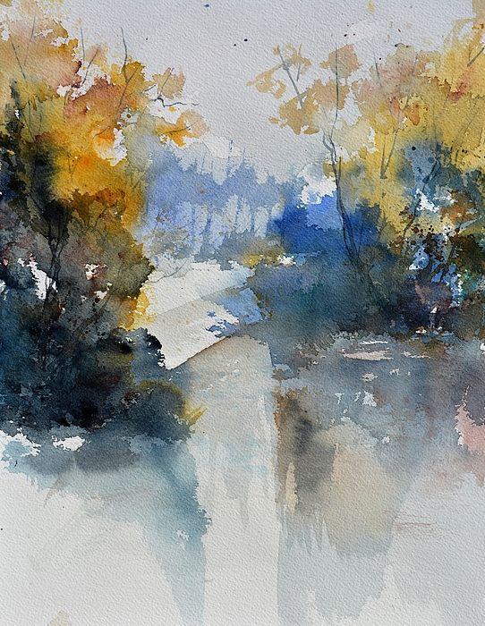 Watercolor 513003 Print by Pol Ledent