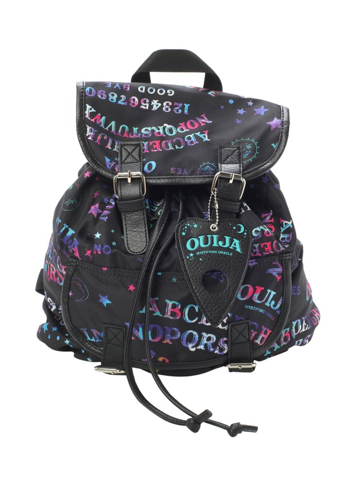Ouija Galaxy Slouch Backpack from Hot Topic